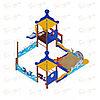 Песочный дворик Морской с горкой ИО 6.17.01, фото 2