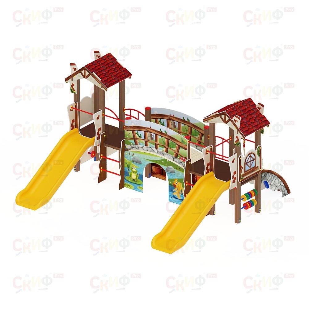 Детский игровой комплекс «В гостях у сказки» ДИК 1.05.01 H=900