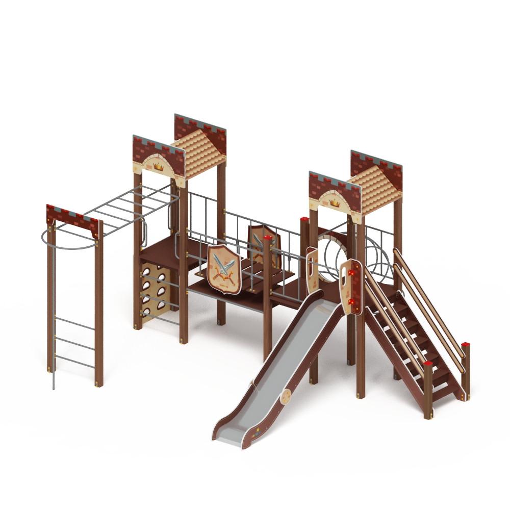 Детский игровой комплекс «Замок» ДИК 2.18.01-01 H=1500