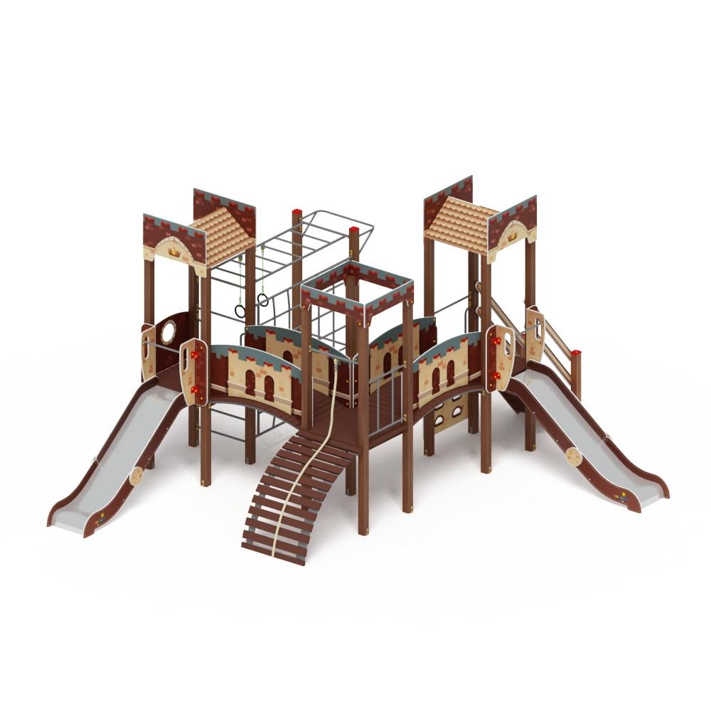Детский игровой комплекс «Замок» ДИК 2.18.02 H=1200