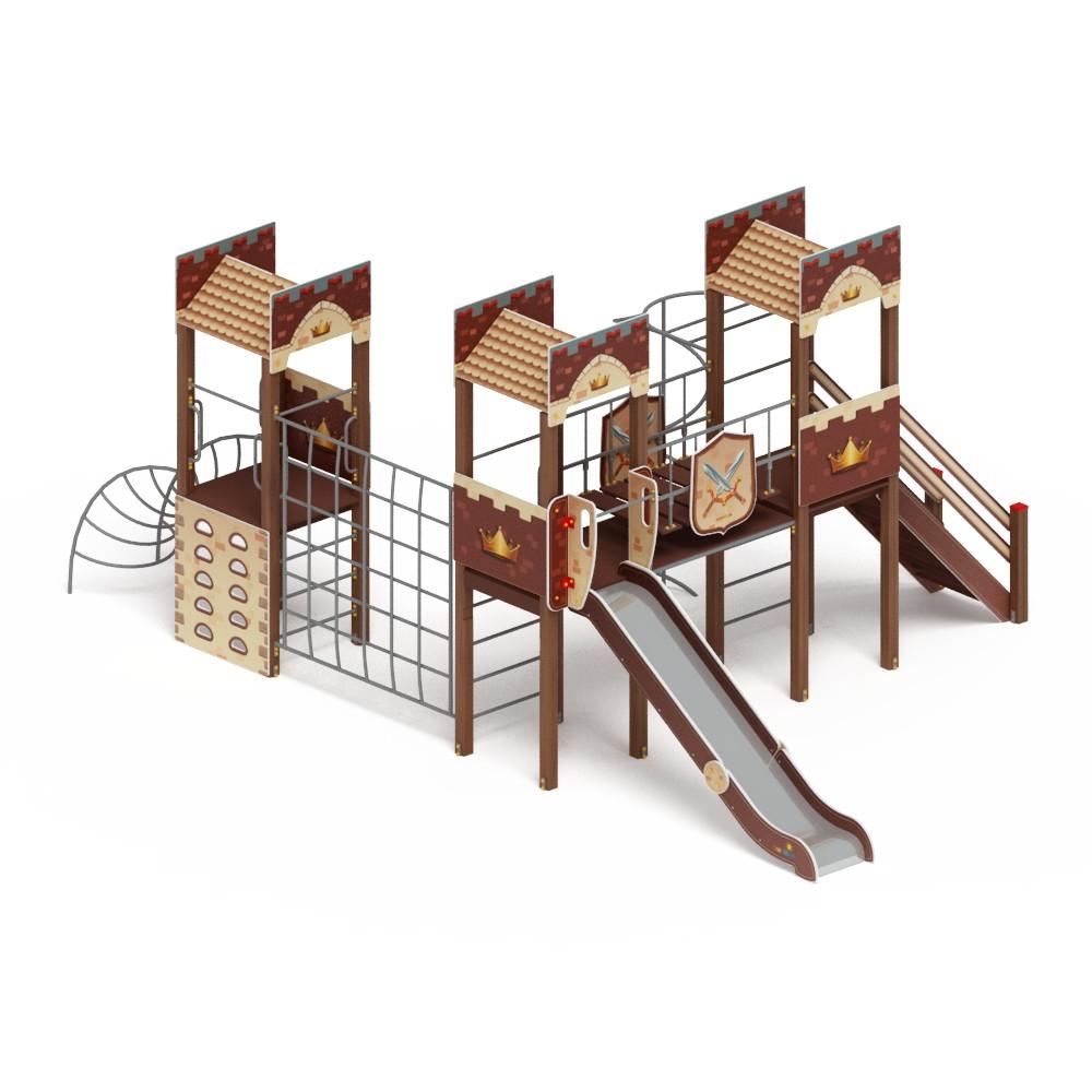 Детский игровой комплекс «Замок» ДИК 2.18.05 H=1500