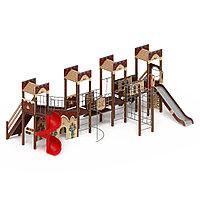 Детский игровой комплекс «Замок» ДИК 2.18.10 H=1500 H=2000