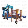 Детский игровой комплекс «Грузовичок» ДИК 1.03.2.02 H=750, фото 2