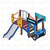 Детский игровой комплекс «Грузовичок» ДИК 1.03.2.02 H=750, фото 4