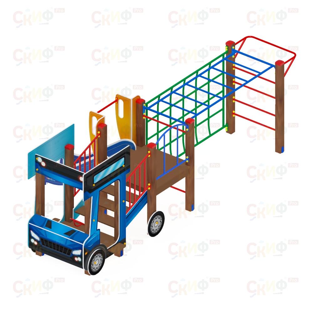 Детский игровой комплекс «Грузовичок» ДИК 1.03.2.03 H=750