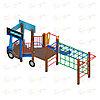 Детский игровой комплекс «Грузовичок» ДИК 1.03.2.03 H=750, фото 2