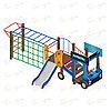 Детский игровой комплекс «Грузовичок» ДИК 1.03.2.03 H=750, фото 4