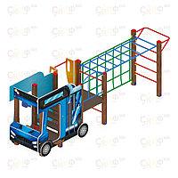Детский игровой комплекс «Грузовичок» ДИК 1.03.2.04 H=750