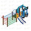 Детский игровой комплекс «Грузовичок» ДИК 1.03.2.04 H=750, фото 3