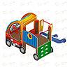 Детский игровой комплекс «Машинка с горкой 1» ДИК 1.03.1.01 Н 750, фото 3