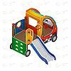 Детский игровой комплекс «Машинка с горкой 1» ДИК 1.03.1.01 Н 750, фото 4