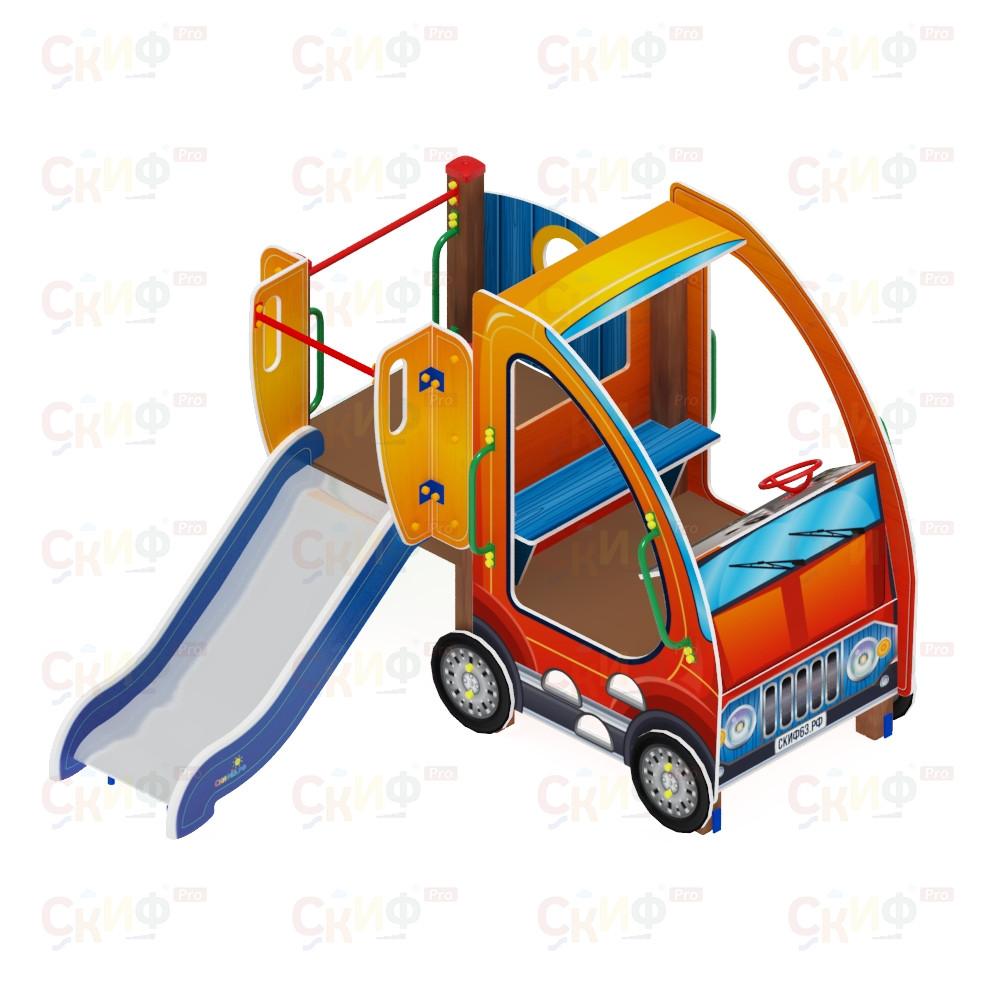 Детский игровой комплекс «Машинка с горкой 1» ДИК 1.03.1.01 Н 750