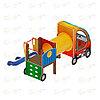 Детский игровой комплекс «Машинка с горкой 3» ДИК 1.03.1.03 Н 750, фото 3