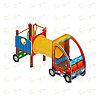 Детский игровой комплекс «Машинка с горкой 3» ДИК 1.03.1.03 Н 750, фото 4