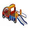 Детский игровой комплекс «Машинка с горкой 4» ДИК 1.03.1.04 Н 750, фото 2
