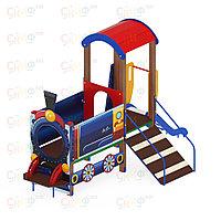 Детский игровой комплекс «Паровозик» ДИК 1005 H=750