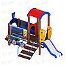 Детский игровой комплекс «Паровозик» ДИК 1005 H=750, фото 2