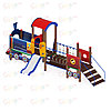 Детский игровой комплекс «Паровозик» ДИК 1.03.5.02 H=750, фото 2