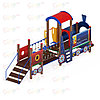 Детский игровой комплекс «Паровозик» ДИК 1.03.5.02 H=750, фото 3