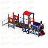 Детский игровой комплекс «Паровозик» ДИК 1.03.5.02 H=750, фото 4
