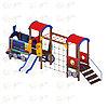 Детский игровой комплекс «Паровозик» ДИК 1.03.5.03 H=750, фото 2