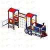 Детский игровой комплекс «Паровозик» ДИК 1.03.5.03 H=750, фото 4