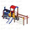 Детский игровой комплекс «Паровозик» ДИК 1.03.5.04 H=750, фото 2