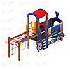 Детский игровой комплекс «Паровозик» ДИК 1.03.5.04 H=750, фото 3
