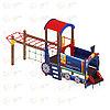 Детский игровой комплекс «Паровозик» ДИК 1.03.5.04 H=750, фото 4
