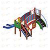 Детский игровой комплекс «Карапуз» ДИК 1.001.01 H=900, фото 2