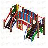 Детский игровой комплекс «Карапуз» ДИК 1.001.01 H=900, фото 3