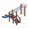 Детский игровой комплекс «Карапуз» ДИК 1.001.02 H=750, фото 2