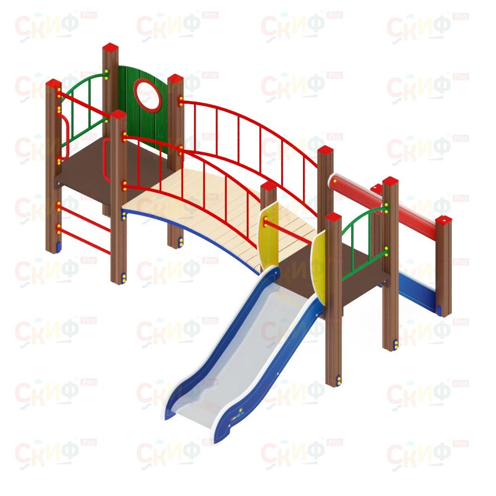 Детский игровой комплекс «Карапуз» ДИК 1.001.03 H=750 (ДИК 003)