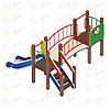 Детский игровой комплекс «Карапуз» ДИК 1.001.03 H=750 (ДИК 003), фото 2