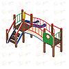 Детский игровой комплекс «Карапуз» ДИК 1.001.03 H=750 (ДИК 003), фото 3