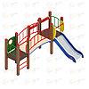 Детский игровой комплекс «Карапуз» ДИК 1.001.03 H=750 (ДИК 003), фото 4