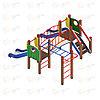 Детский игровой комплекс «Карапуз» ДИК 1.001.04 H=750, фото 2