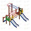 Детский игровой комплекс «Карапуз» ДИК 1.001.04 H=750, фото 4