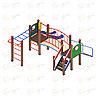 Детский игровой комплекс «Карапуз» ДИК 1.001.05 H=750, фото 2