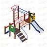 Детский игровой комплекс «Карапуз» ДИК 1.001.05 H=750, фото 4