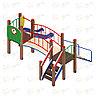 Етский игровой комплекс «Карапуз» ДИК 1.001.06 H=750, фото 3
