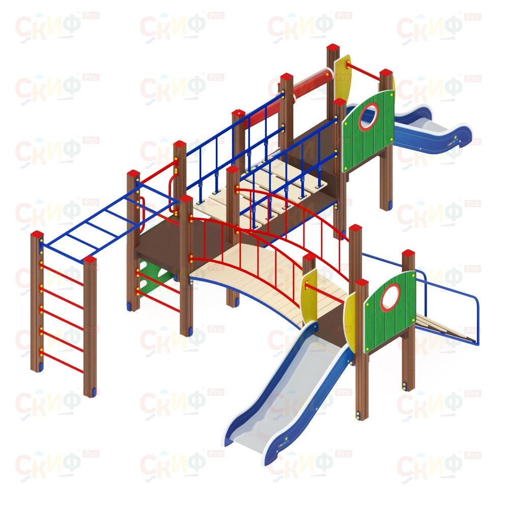 Детский игровой комплекс «Карапуз» ДИК 1.001.08 H=750