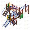 Детский игровой комплекс «Карапуз» ДИК 1.001.08 H=750, фото 3