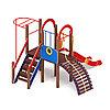 Детский игровой комплекс «Играйте с нами» ДИК 2.01.1.02 H=1200, фото 3