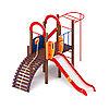 Детский игровой комплекс «Играйте с нами» ДИК 2.01.1.02 H=1200, фото 4