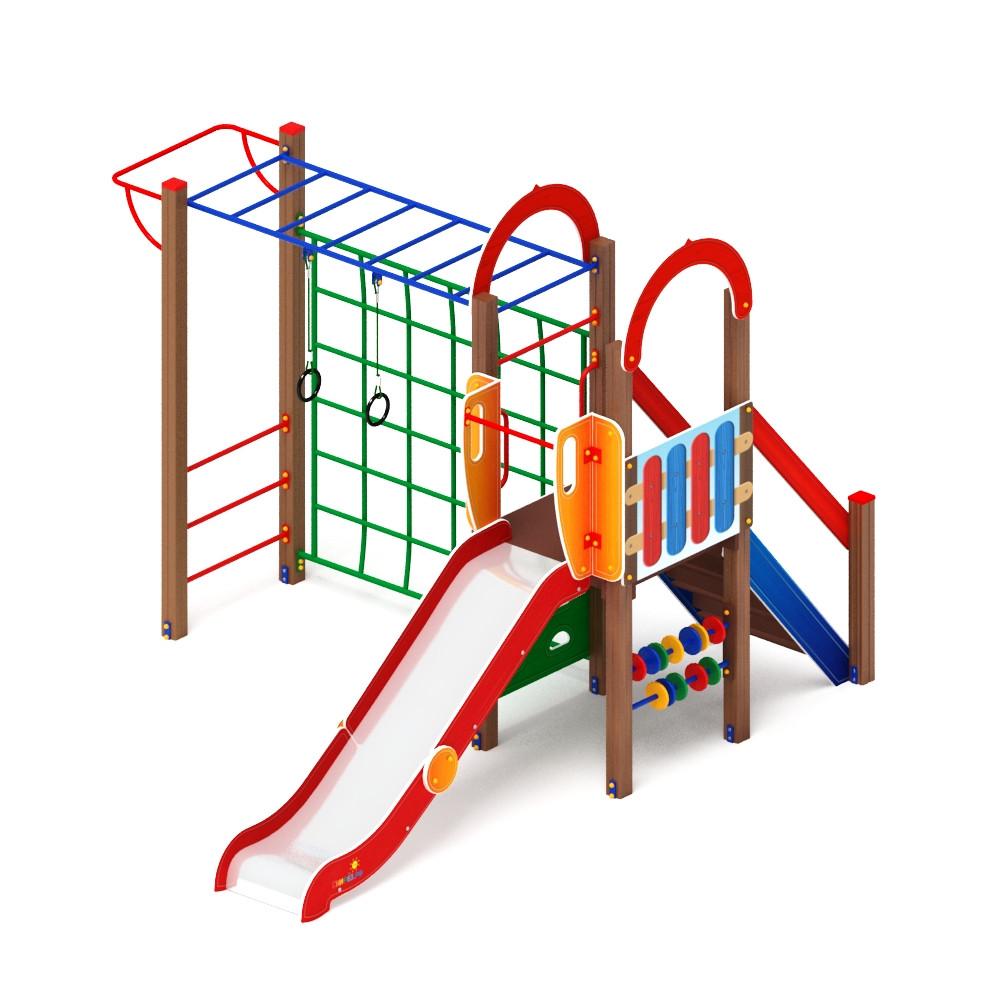 Детский игровой комплекс «Играйте с нами» ДИК 2.01.1.05 H=1200 (ДИК 105)