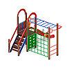 Детский игровой комплекс «Играйте с нами» ДИК 2.01.1.05 H=1200 (ДИК 105), фото 3
