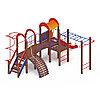 Детский игровой комплекс «Рада» ДИК 2.01.2.08 H=1200, фото 3