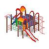 Детский игровой комплекс «Городок» ДИК 2.01.3.01 H=1200, фото 2