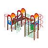 Детский игровой комплекс «Городок» ДИК 2.01.3.04 H=1200, фото 3